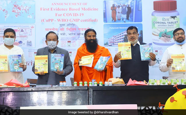 Doctors' Body 'Has Problems Accepting Truth': Patanjali On 'Coronil' Row