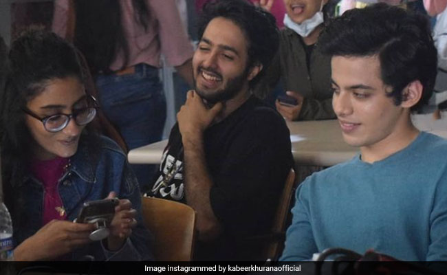 A Pic From Renee Sen And Darsheel Safary's Work Diaries