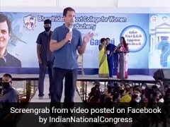 'Not 'Sir', You Can Call Me...': Rahul Gandhi's Comment Draws Loud Cheers