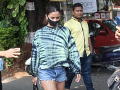 Alia Bhatt's Love For Tie-Dye Is Going Nowhere As She Steps Out In Yet Another Look