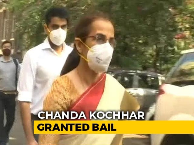 Video : Chanda Kochhar Granted Bail, Can't Leave Country Without Court Permission