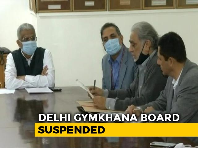 Video : Delhi Gymkhana New Membership On Hold, Centre Appoints Administrator