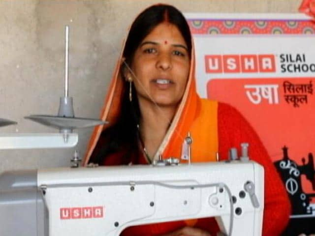 Video: Sunita- An Entrepreneur, Inspiration For Many: USHA Silai School's Success Story