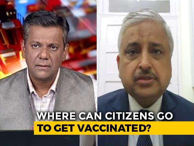 Video : Vaccines To Be Available At Government, Private Hospitals: AIIMS Chief