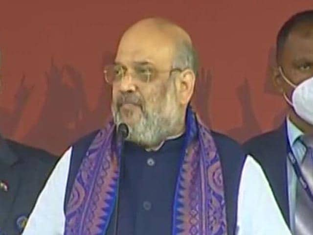 Video : 'Can't Stop Us From Helping The Poor': Amit Shah In Bengal
