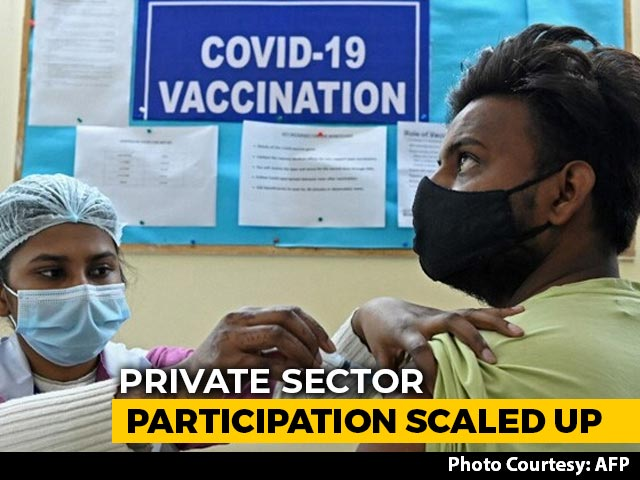 Video : Covid Vaccine Jab Capped At Rs 250 At Private Hospitals: Government