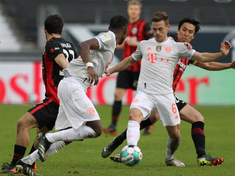 Bundesliga Leaders Bayern Munich Suffer 2-1 Defeat At Eintracht Frankfurt