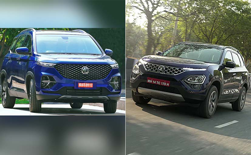 The Tata Safari and MG Hector Plus are the six or seven seater version of existing models.
