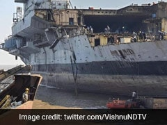 Nearly Impossible To Reassemble Aircraft Carrier Viraat Now: Shipbreaker