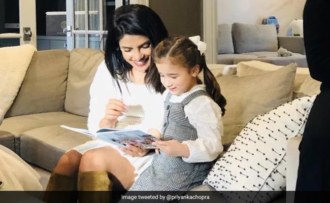Priyanka Bookmarks A Page From Her Reading Diaries With Alena Jonas