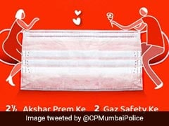 """Love, Mask And 6 Feet Distance"": Mumbai Police Tweets On Valentine's Day"