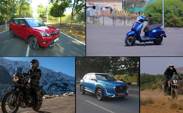 Video : Mahindra XUV300 Petrol AMT Review, Bajaj Chetak EV Review