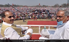 Left-Congress Flex Massive Crowd At Kolkata Rally, Slam Trinamool, BJP