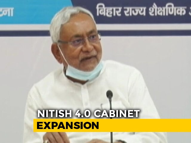 Video : In Bihar Cabinet Expansion, Nitish Kumar Shows BJP Who's The Boss