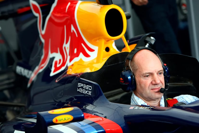 Newey is Red Bull's talismanic Chief technical officer