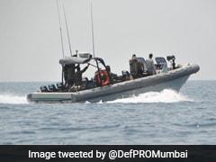 Navy's Marine Commandos Rescue Woman From Mandovi River In Goa