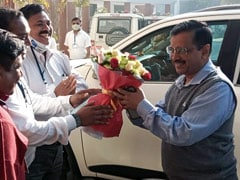 Arvind Kejriwal's Thanksgiving Roadshow In Surat As AAP Enters Gujarat