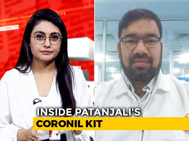 """Video : """"Coronil Was Tested On 100 People"""": Patanjali Scientist"""