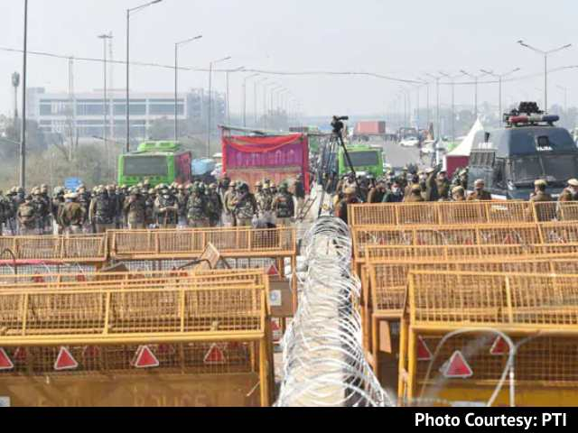 Video : 50,000 Personnel, Drones, Water Cannons Ensure <i>Chakka</i> Jam-Free Delhi