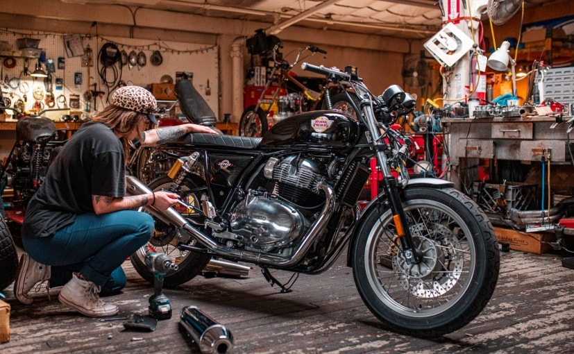 Seven women racers will build and prepare their own Continental GT 650 race-bikes