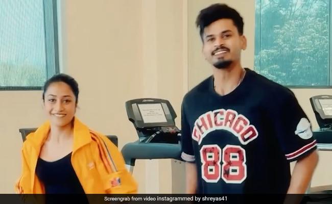 धनाश्री वर्मा ने श्रेयस अय्यर के साथ यूं किया डांस, एक-दूसरे से स्टेप मैच करते आए नजर- देखें Video