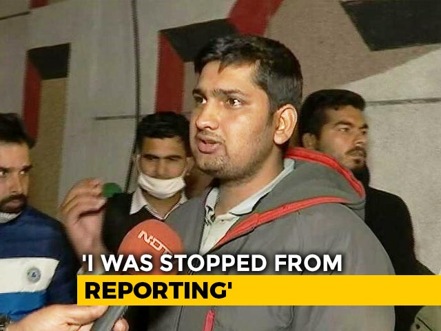 """Video : """"Have Prepared A Report From Jail"""": Journalist, Arrested From Farmers' Protest Site, After Bail"""