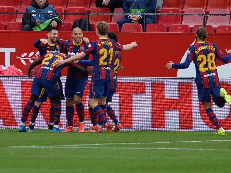 La Liga: Lionel Messi Helps Barcelona Brush Apart Sevilla To Reignite Title Hopes   Soccer Information