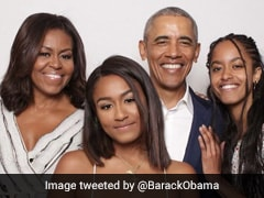 """The 3 Who Never Fail To Make Me Smile"": Obama's Valentine's Day Pic"