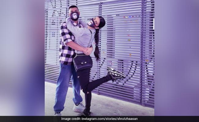 Trending: Shruti Haasan's Pics With Boyfriend Santanu Hazarika