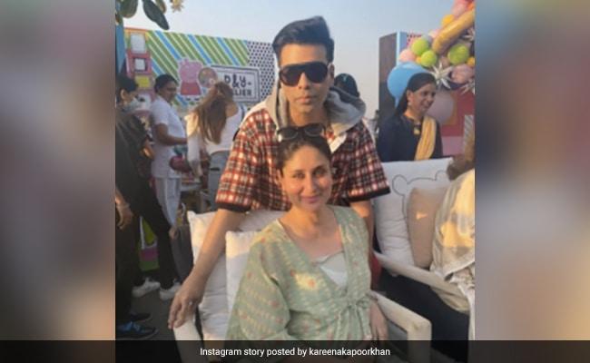 Catching Up With Mom-To-Be Kareena Kapoor And Karan Johar - NDTV