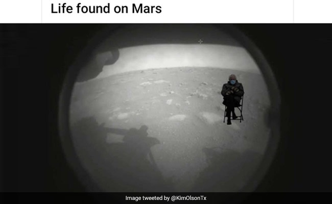 As NASA's Perseverance Rover Lands On Mars, People Make Hilarious Memes