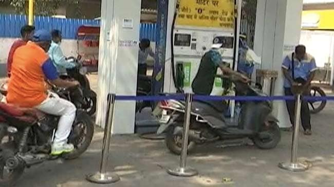 Petrol, Diesel Rates Unchanged On Monday