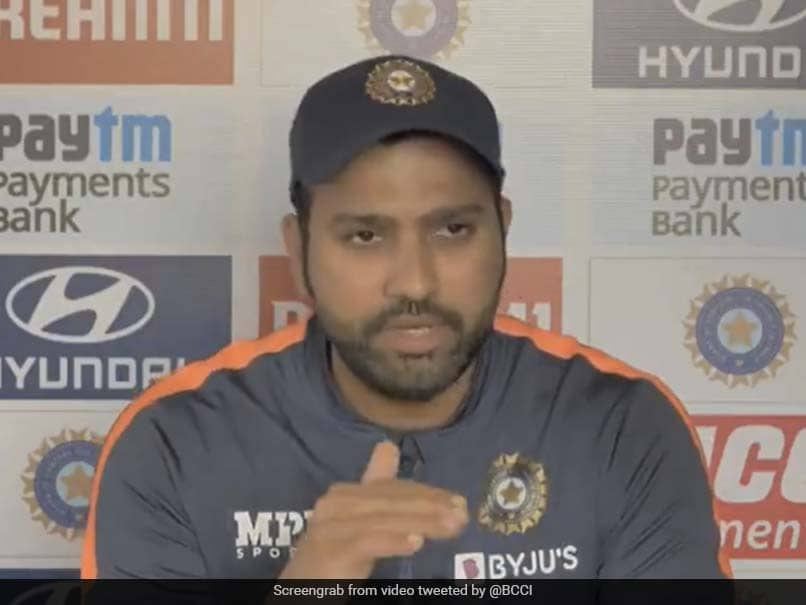 """They Dont Think About Us, Why Should We"": Rohit Sharma Slams Pitch Critics. Watch"