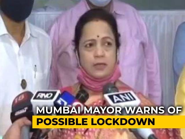 Video : Amid Rising Cases, Mumbai Mayor's Lockdown Caution
