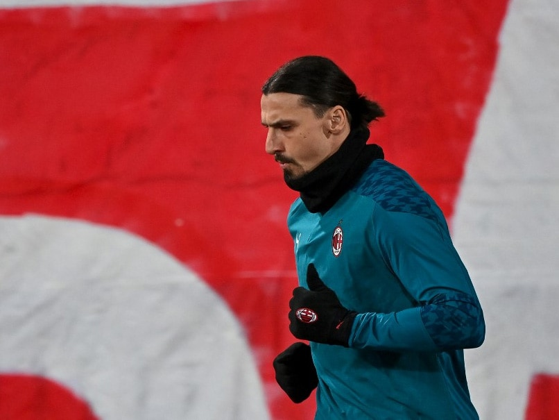 Zlatan Ibrahimovic Fit To Play A Role For AC Milan Against Manchester United