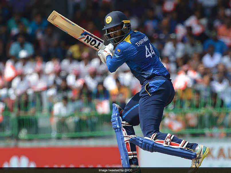 Veteran Sri Lanka Opener Upul Tharanga Announces Retirement From International Cricket