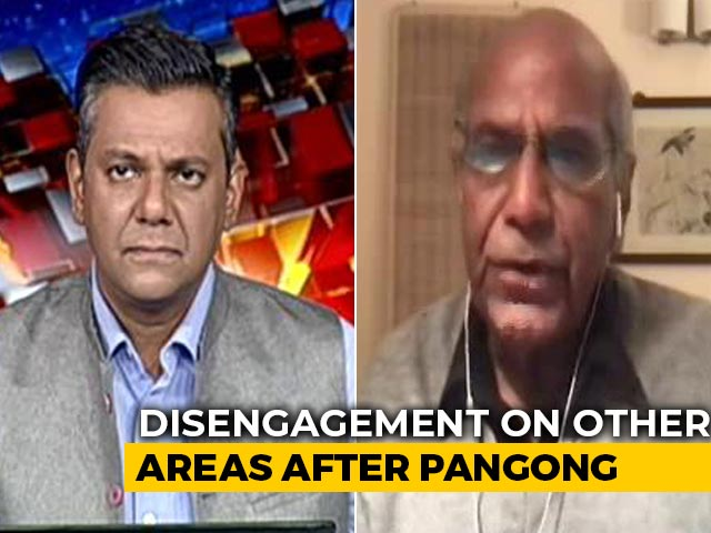 Video : Ladakh Disengagement A Positive Development: Ex-Foreign Secretary Shyam Saran