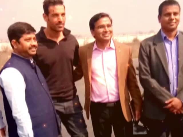 Video : John Abraham's Current Shooting Location Is Dhanipur Airstrip