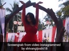 'ये रिश्ता क्या कहलाता है' की नायरा ने रेड गाउन में 'लत लग गई' सॉन्ग पर किया डांस, Video 4 लाख के पार