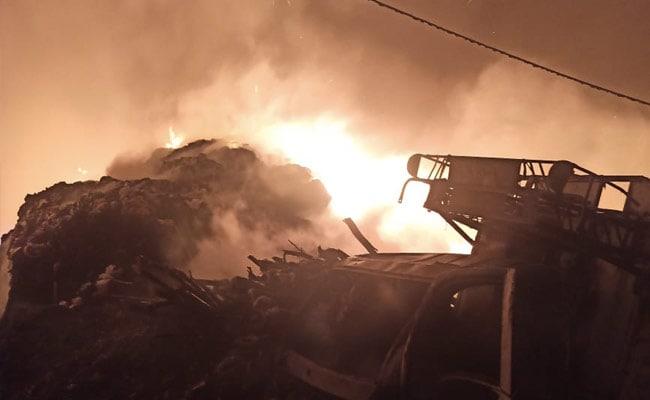More Than 20 Huts Burnt In Major Slum Fire In Delhi, No Casualties