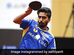 Sathiyan Gnanasekaran Requests For Table Tennis Table To Be Used At Tokyo Olympics