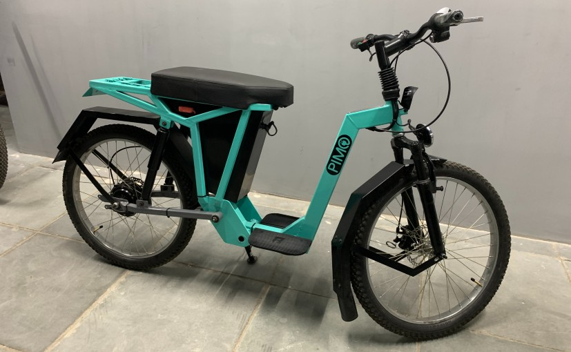The PiMo utility e-bike is said to charge faster than most smartphones