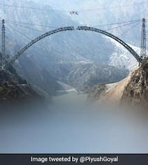 'Marvel In Making': Piyush Goyal Updates On 'World's Highest' Rail Bridge