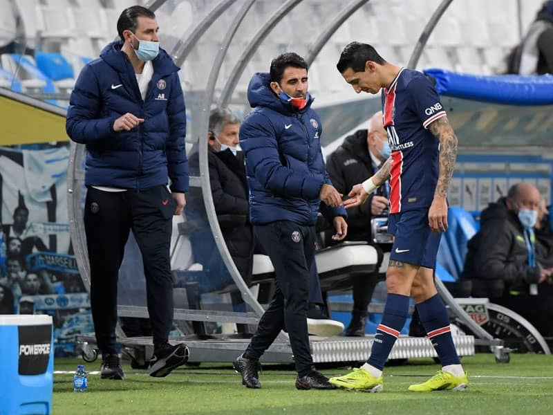 Champions League: Paris Saint-Germain Lose Angel Di Maria For Barcelona Tie