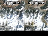 Video : Exclusive: Before And After Satellite Photos Of Uttarakhand Disaster Site