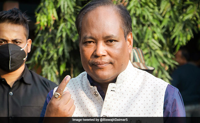 BJP's Biswajit Daimary Elected Unopposed To Rajya Sabha From Assam
