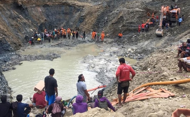 At Least Three Killed After Gold Mine Collapses Due To Landslide In Indonesia