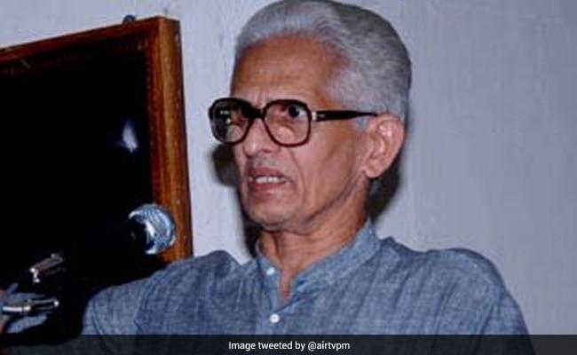 Malayalam Poet Vishnunarayanan Namboothiri Dies, PM Expresses Grief