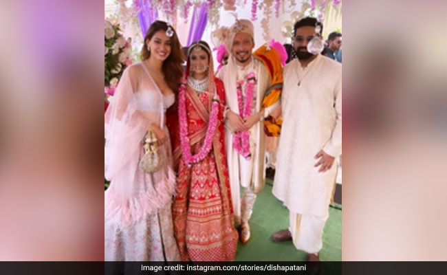 Disha Patani Is Busy Making Memories At Her Friend's Wedding. See Pics