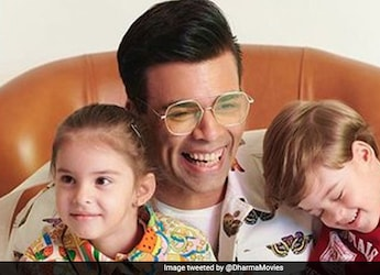 Karan Johar Celebrated Mother's Day With Family And A Yummy Cake!